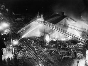 Pittsburgh Firemen in Action