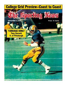 Pittsburgh Panthers RB Tony Dorsett - September 4, 1976