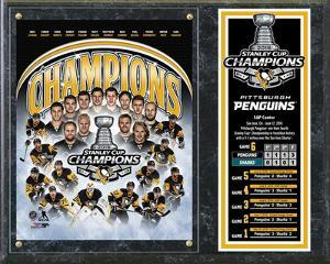 Pittsburgh Penguins 2016 Stanley Cup Champions Composite Plaque