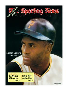 Pittsburgh Pirates RF Roberto Clemente - February 28, 1970