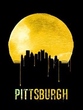 Pittsburgh Skyline Yellow