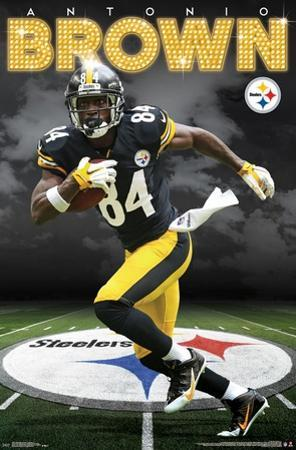 Pittsburgh Steelers - A Brown 16