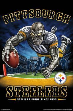 PITTSBURGH STEELERS - END ZONE 17