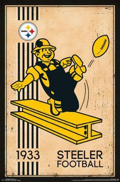 Pittsburgh Steelers - Retro Logo 14