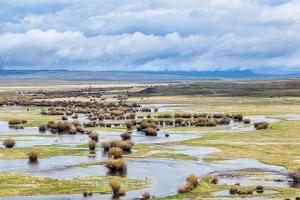 Illinois River Meanders through Arapaho National Wildlife Refuge, North Park near Walden, Colorado, by PixelsAway