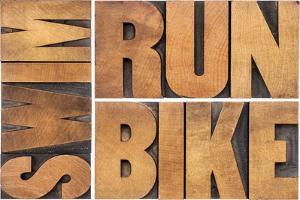 Run, Bike, Swim by PixelsAway