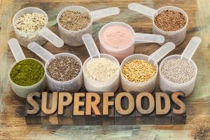 Superfoods Word by PixelsAway