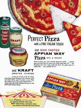 Pizza Mix Ad, 1960