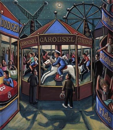 FAIRGROUND, 2013 by PJ Crook