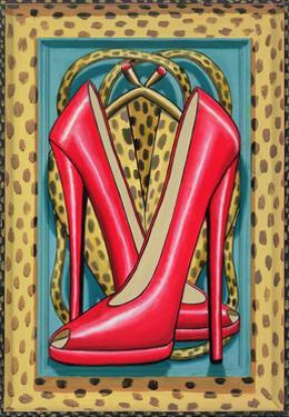 Higher Heels, 2010 by PJ Crook