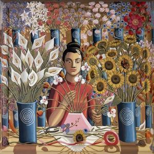 Ikebana, 2015 by PJ Crook
