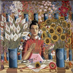 Ikebana, 2015 by PJ Crook