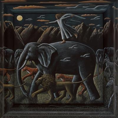 JOURNEY BY MOONLIGHT, 2015 by PJ Crook