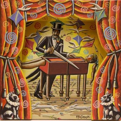 MARVO THE MARVELLOUS MAGICIAN , 2017 by PJ Crook