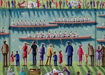 Regatta, 2000 by PJ Crook