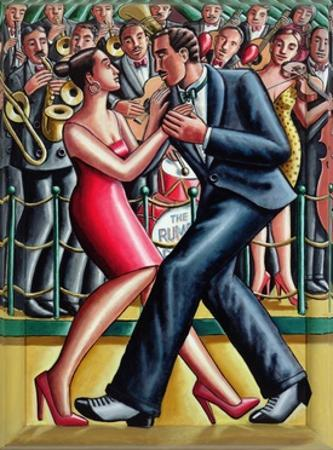 Rumba, 2008 by PJ Crook