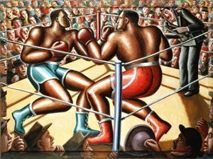 The Big Fight by PJ Crook