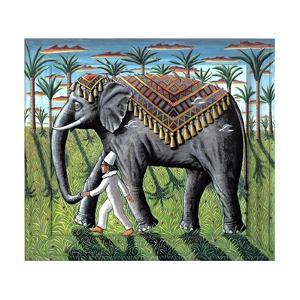 The Elephant and Boy, 2008 by PJ Crook