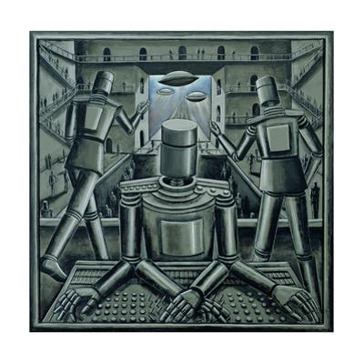 Tin God, 2003 by PJ Crook