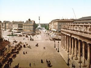 Place De La Comedie, Bordeaux, 1890-1900