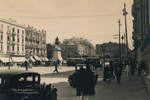 Place Muhammad Ali, Alexandria, Egypt, 1936
