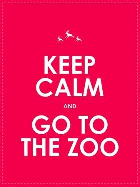 Keep Calm and Go to the Zoo Background by place4design