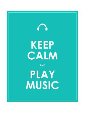 Keep Calm and Play Music,Vector Background,Eps10 by place4design