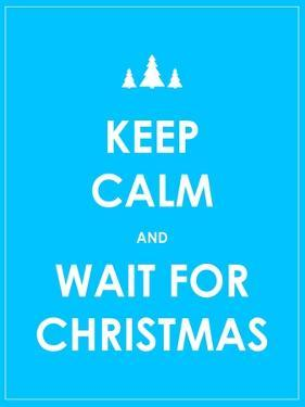 Keep Calm Modern Christmas Background by place4design