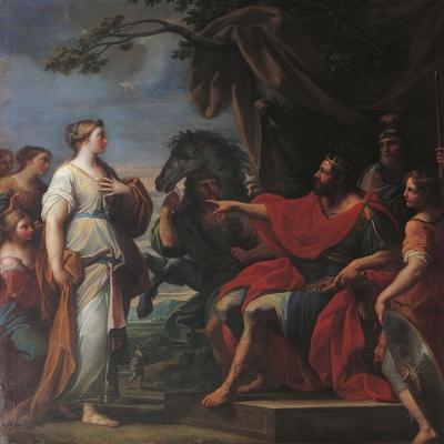Clelia before Porsena