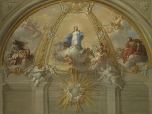 Immaculate Conception, c.1730 by Placido Costanzi