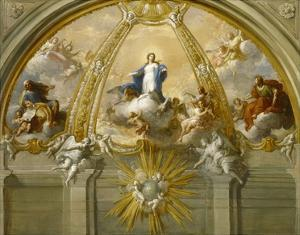 Immaculate Conception by Placido Costanzi