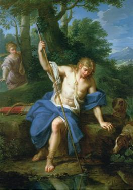 Narcissus and Echo by Placido Costanzi