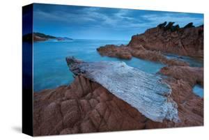 Plage de Ruppione beach near Propriano, Gulf of Valinco, Corse-du-Sud, Corsica, France
