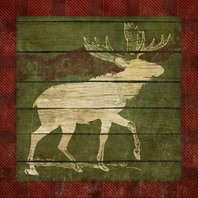 Plaid Moose Border