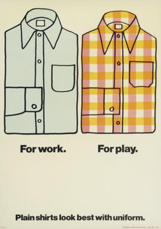 Plain Shirts Look Best with Uniform