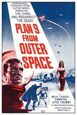 Plan 9 From Outer Space - Regular Poster