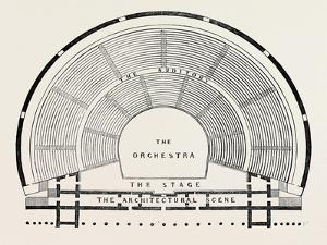 Plan of a Greek Theatre
