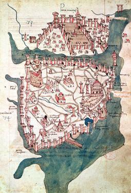 Plan of Constantinople