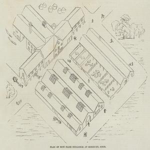 Plan of New Farm Buildings at Shirburn, Oxon
