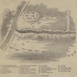 Plan of the Battle of Dubba