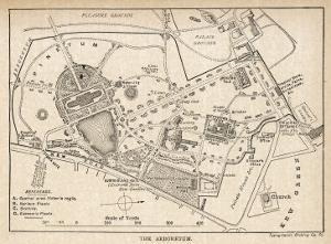 Plan of the Botanical Gardens