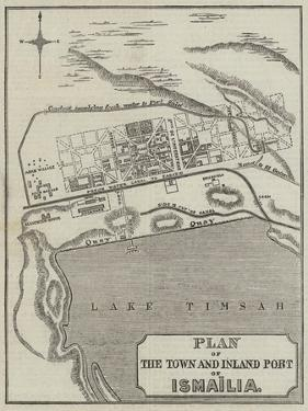 Plan of the Town and Inland Port of Ismailia