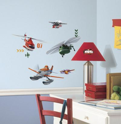 Planes Fire & Rescue Peel And Stick Wall Decals