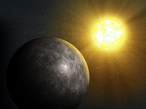 Planet Mercury, Artwork