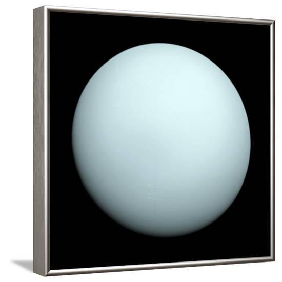 Planet Uranus--Framed Photographic Print