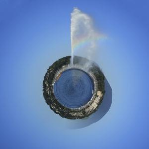 Planet with Water Fountain, Geneva, Switzerland