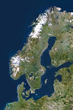 Scandinavia by PLANETOBSERVER