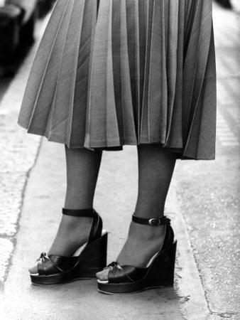 Platform Shoes, August 1974