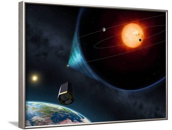Plato, Proposed Extrasolar Planet Mission--Framed Photographic Print