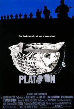 Platoon Helmet Official Movie Poster Print